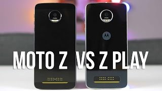 Moto Z vs Moto Z Play Review: Which One Should You Buy?(Here's my review of the Moto Z and Moto Z Play. Check out dbrand skins here: http://bit.ly/2dbsTaa My Gear: http://kit.com/monizma/my-gear Help support the ..., 2016-10-09T14:00:00.000Z)