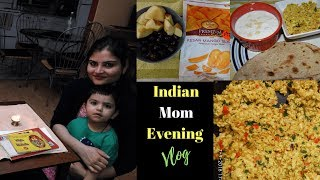 #Vlog: We Are A Happy Family | Food, Amazing Weather, Park Fun| Indian Mommy Vlogger|Real Homemaking