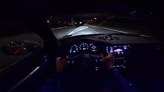 new porsche 911 992 carrera 4s night drive pov by autotopnl