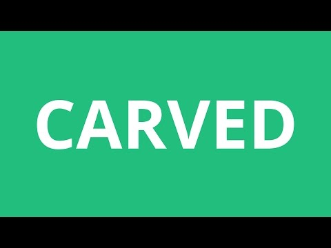 How To Pronounce Carved - Pronunciation Academy
