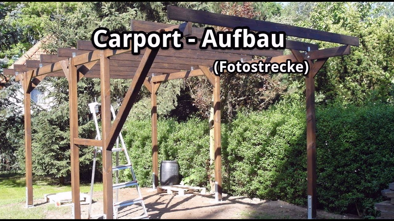 aufbauanleitung carport my blog. Black Bedroom Furniture Sets. Home Design Ideas
