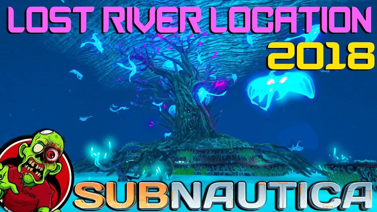 Subnautica Karte.Lost River Location 2018 Subnautica