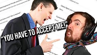 Asmongold Threatened By People Who Want A Spot  N His New Guild Classic WoW