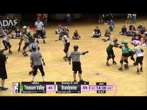 Game 7: Brandywine Roller Girls v Treasure Valley Roller Derby