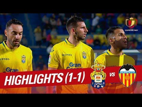Resumen de UD Las Palmas vs Valencia CF (1-1)