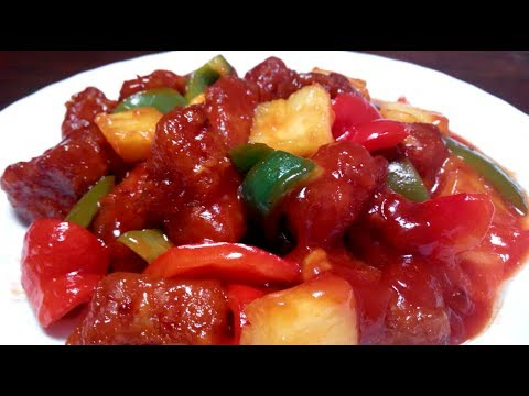 Hong Kong Style Sweet And Sour Pork 咕咾肉簡單做!