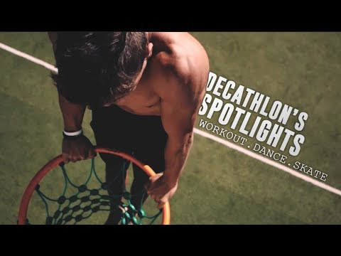A DAY ON THE DECATHLON'S SPOTIGHTS / Workout, Dance & Skate Edition