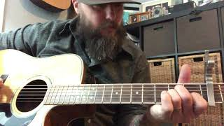 Kate McCannon Tutorial - Colter Wall Cover