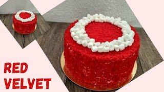 Бисквит для тортика Красный бархат