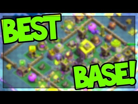BEST Base EVER in Clash of Clans?! TOP PLAYER'S � CoC � Builder Base!
