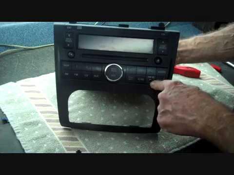 2008 nissan altima radio aux input replacement