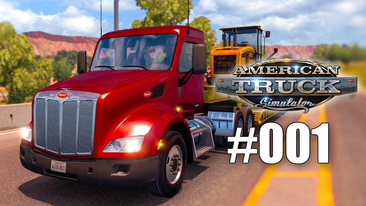 American Truck Simulator #001 – Ab auf den Highway! Gameplay ATS ...