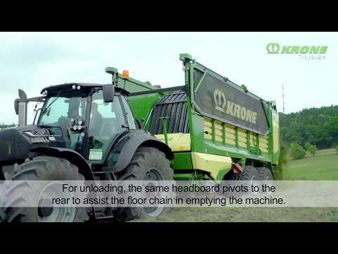 Der KRONE MX Ladewagen – Das ist neu zur Agritechnica 2017