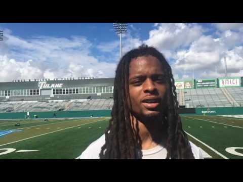 Tulane CB Parry Nickerson: 'I've just gotta keep striving for greatness'