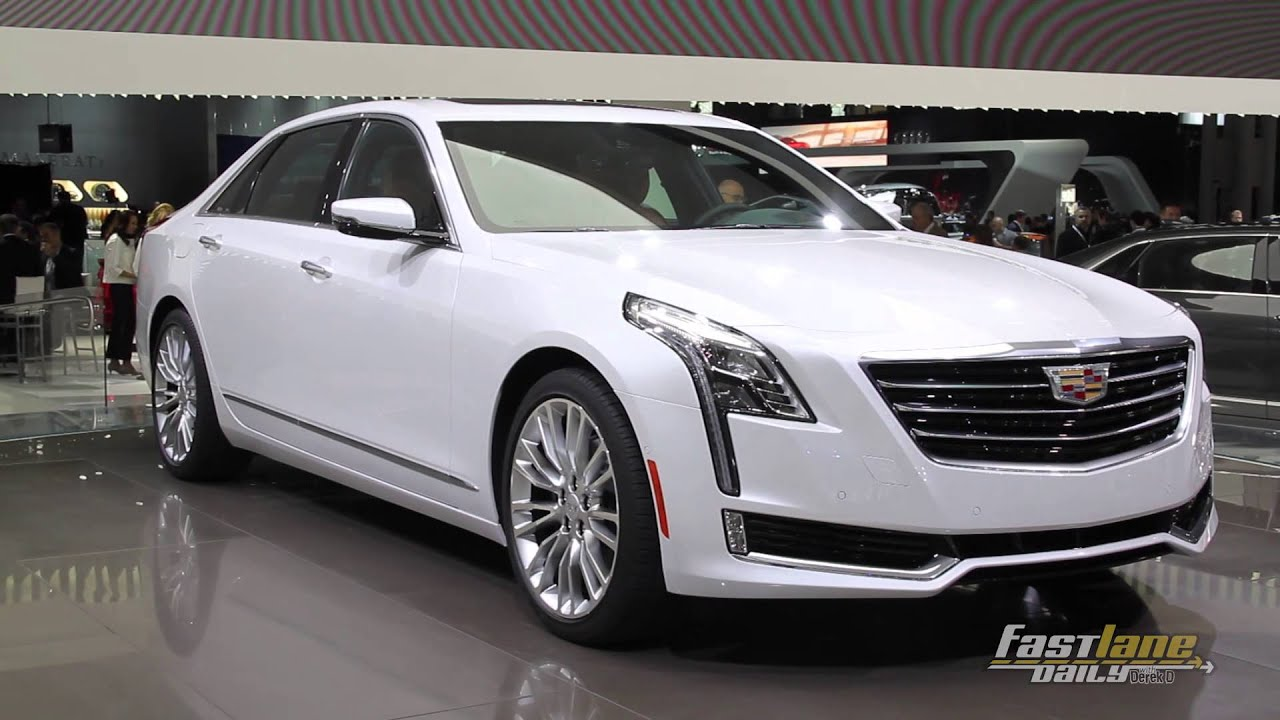 2016 cadillac ct6 2015 nyias fast lane daily youtube. Black Bedroom Furniture Sets. Home Design Ideas