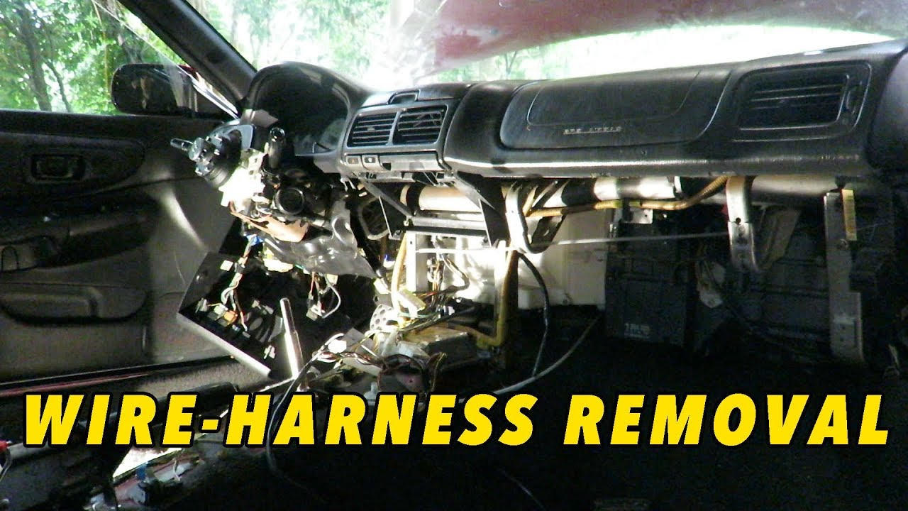 Subaru Wiring Harness Removal - Read All Wiring Diagram