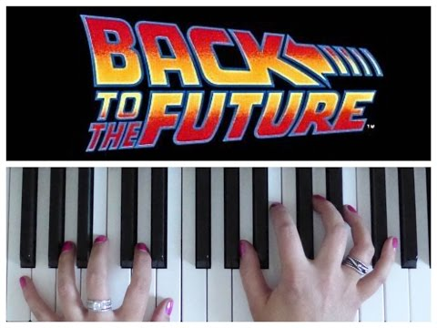 Back to the Future Main Theme | EASY Piano Tutorial