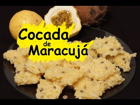 Como fazer Cocada Cremosa de Maracujá #24