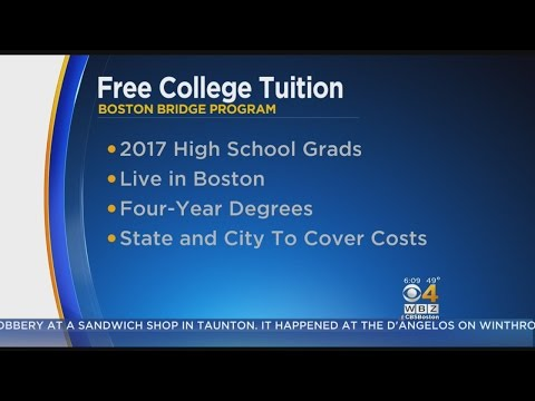 Free College Tuition Program Created For Low-Income Students In Boston
