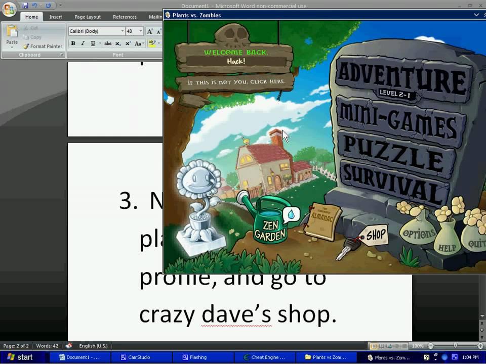 Скачать Читы На Plants Vs Zombies На Компьютер - фото 8