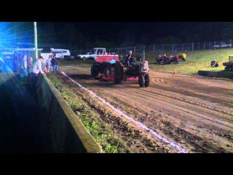 Badass Farmall H tractor pull Waterford fair