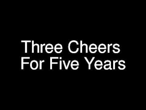Mayday Parade - Three Cheers For Five Years (Lyrics)