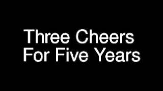 Mayday Parade - Three Cheers For Five Years (Lyrics)