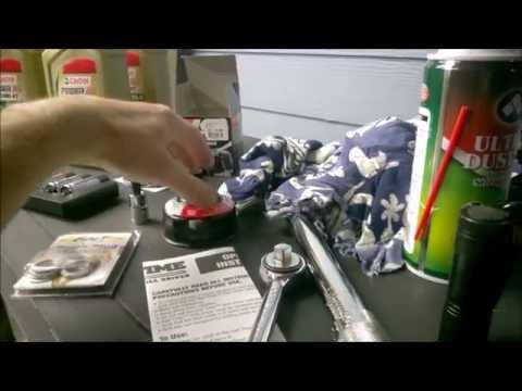 Motorcycle Oil Change Cruiser - Triumph Thunderbird