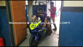 Yamaha R1 INTO DYNO ROOM - Motodynamics Technology Malaysia