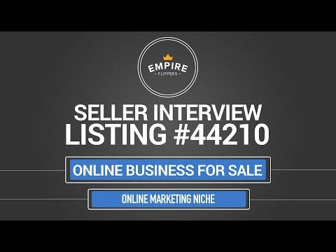 Online Business For Sale – $3.2K/month in the Online Marketing Niche