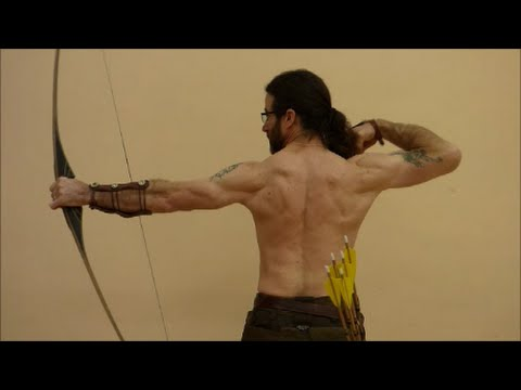 INSTINCTIVE ARCHERY BASICS. BACK TENSION