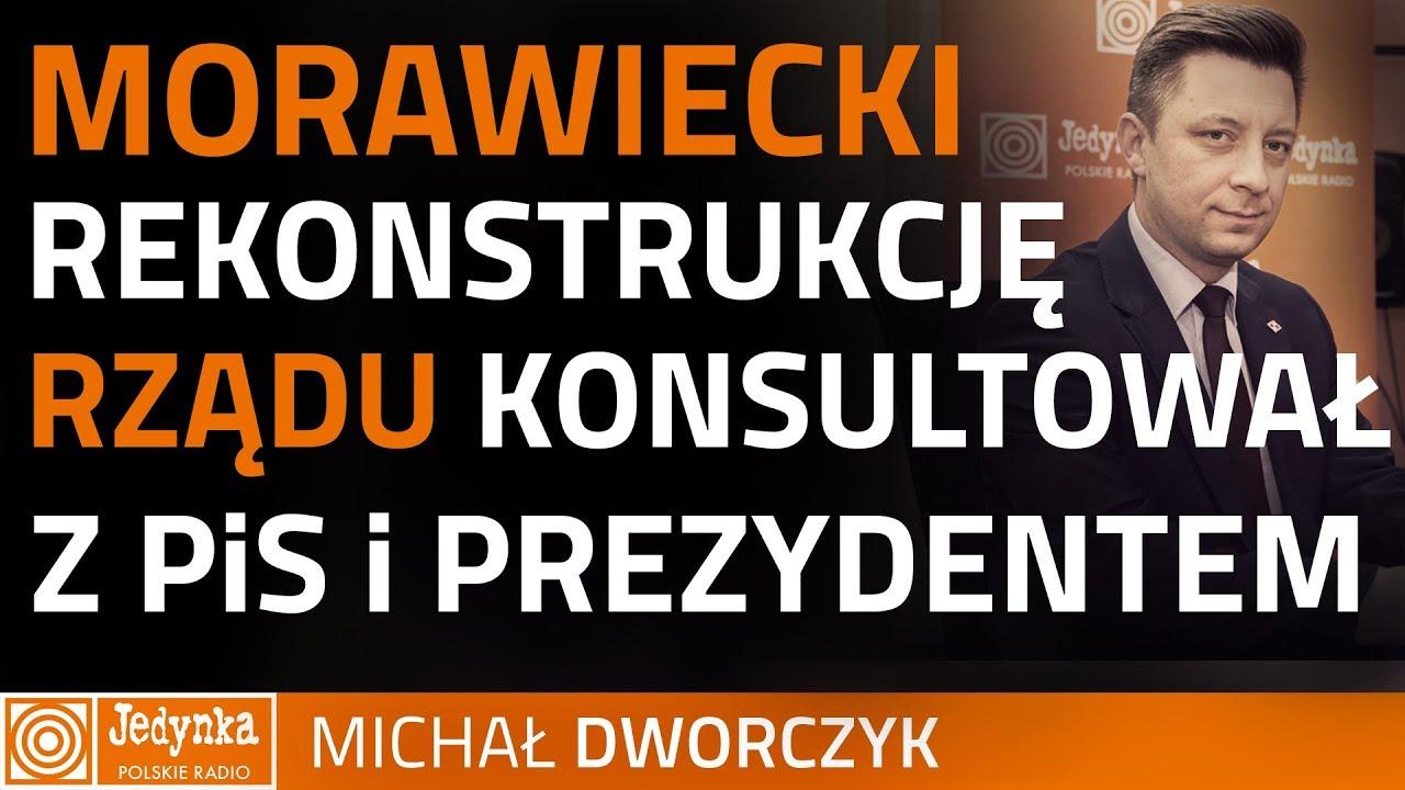 Dworczyk: Mateusz Morawiecki ciężko pracował, by zbudować to zaufanie
