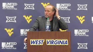 West Virginia Mountaineers Football: Dana Holgorsen 11/13/18 Part 2