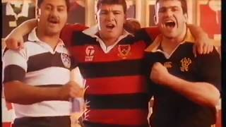 OLD NEW ZEALAND TV ADS 1991 RUGBY WORLD CUP ALL BLACKS CAMPAIGN
