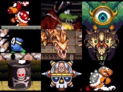 Brutal (Kitiku) Mario World all bosses (English Version)