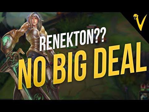 Renekton? NO BIG DEAL! - Viper Stream Highlights Episode #39