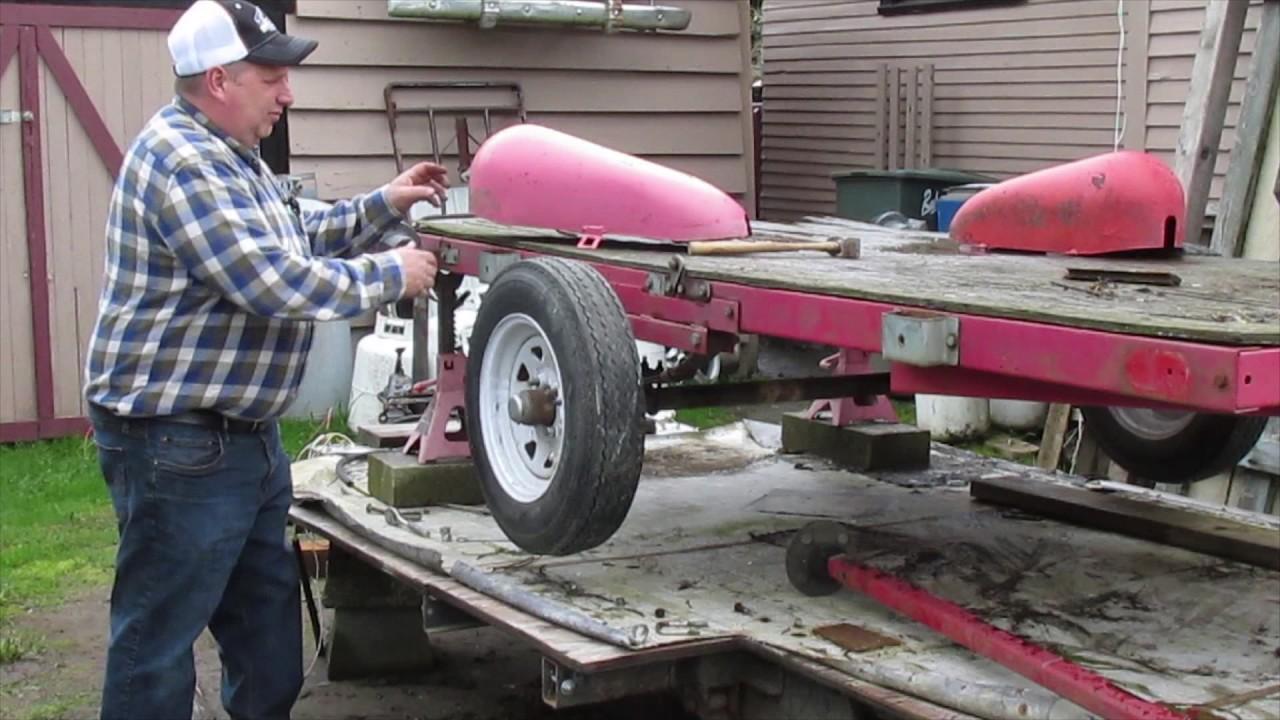 utility trailer rebuild 6 fender fantasy youtube