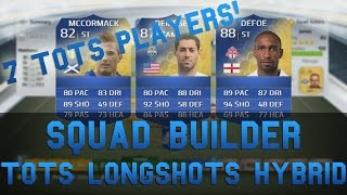 Squad Builder | TOTS Longshots Hybrid! Feat. 7 TOTS Players!! - LIVE GAMEPLAY! Thumbnail