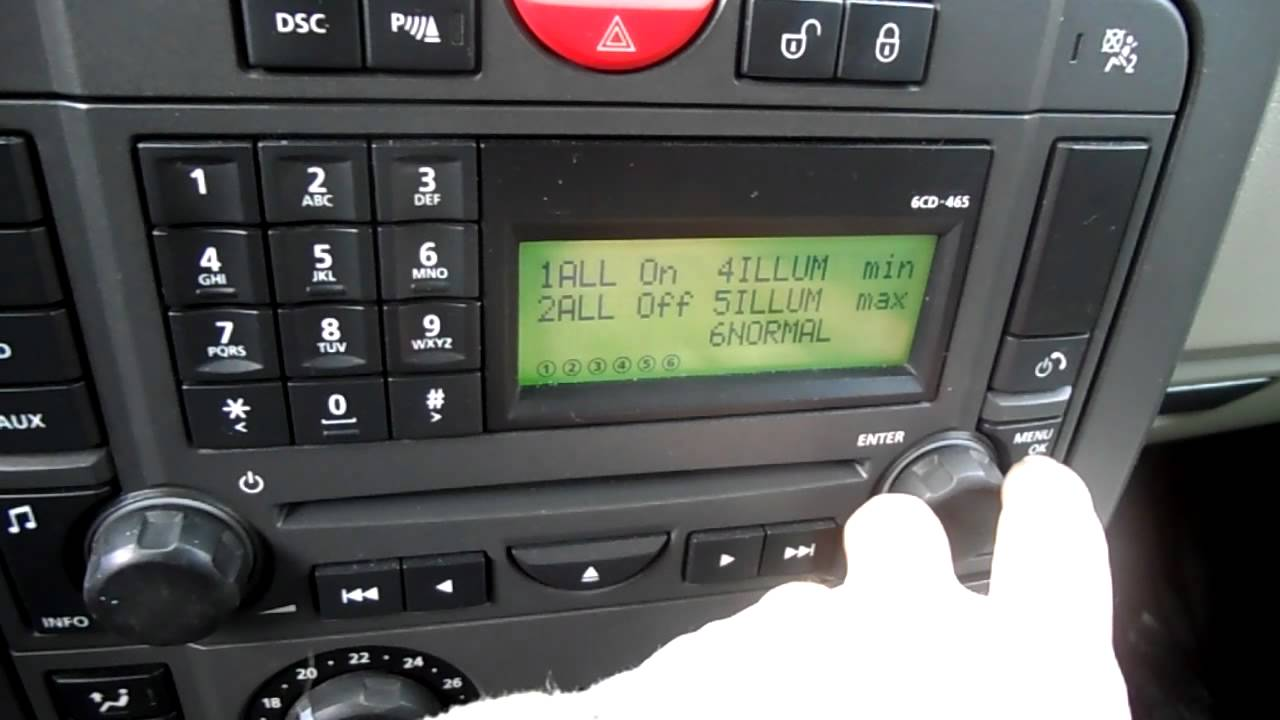Hidden Setting D3 Radio Youtube Land Rover Discovery 2 Central Locking Wiring Diagram