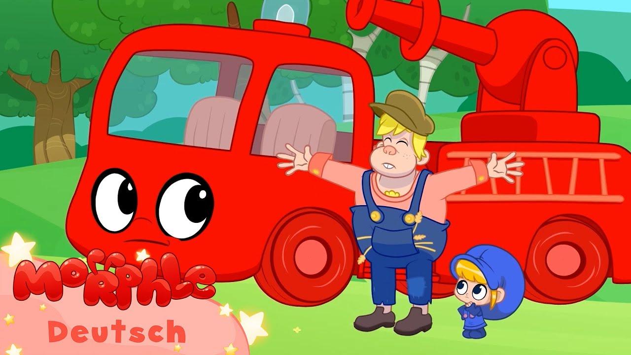 Morphle das Feuerwehrauto und der Drachen | +Mehr Episoden | Kinderlieder | Mila und Morphle Deutsch