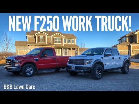 I Got A New Truck For My Landscaping Business!
