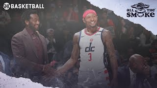 John Wall Opens Up On His Relationship With Bradley Beal | ALL THE SMOKE