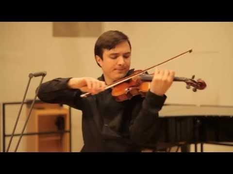 Stepan Lavrov - J. BRAHMS Violin Sonata No. 3 in D Minor, Op. 108: Adagio