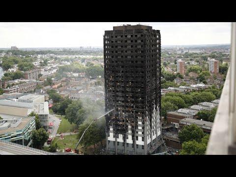 Incendie de la tour londres le bilan ne cesse de s for Tour de verre a londres