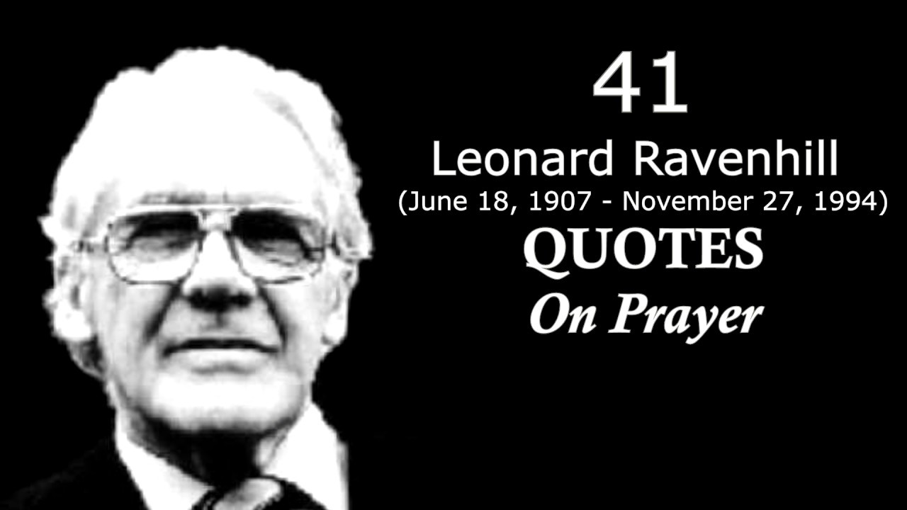 41 Great Ravenhill Quotes On Prayer Radical Preacher Youtube