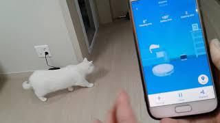 샤오미 로봇청소기 5세대 E35  고양이를 위해 구매하…