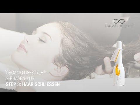 Organic Lifestyle® 3-Phasen-Kur – Step 3: Konditioner zum Haare schließen