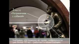 Тайны скульптур на станции метро «Площадь Революции»