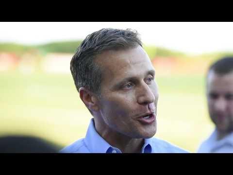 Missouri Governor Eric Greitens predicts a Chiefs Super Bowl win