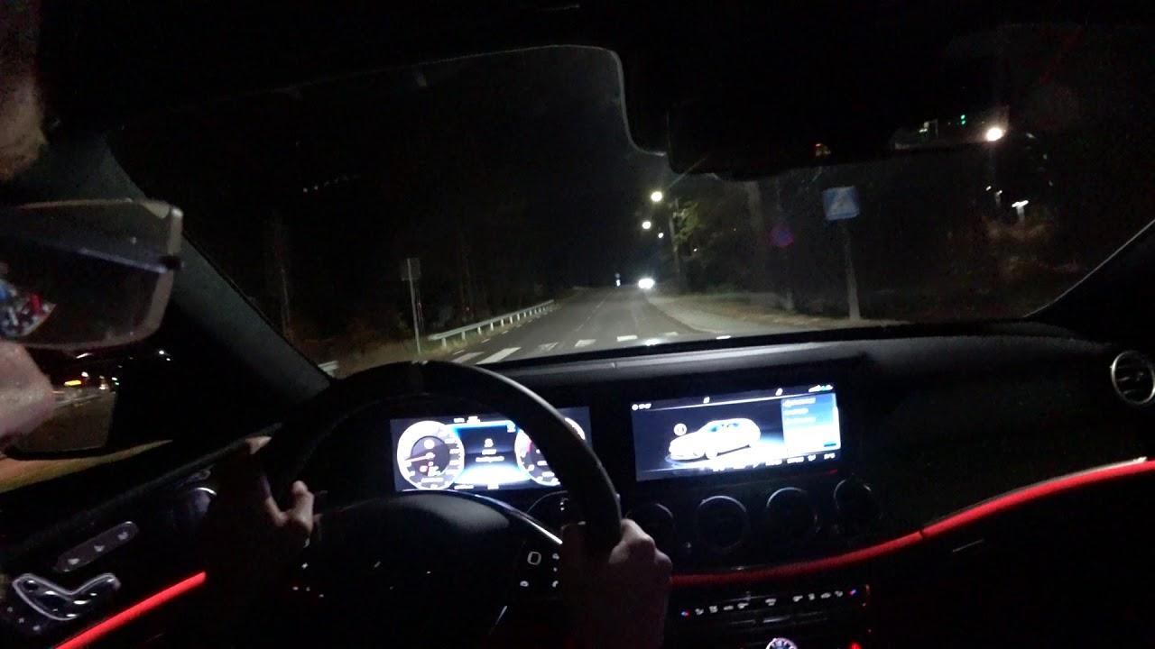 Pov Slippery Night Mercedes Amg E63 S 4matic Estate